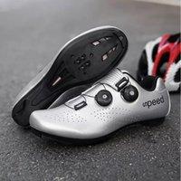 Calçado de ciclismo 2021 Sapatos de bicicleta atléticos profissionais MTB Homens Auto-bloqueio Bicicleta Sapatilha Ciclismo Mulheres Estrada