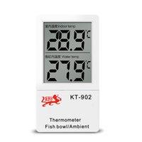 Balık tankı termometre balık üreme led çift ekran elektronik kablosuz indüksiyon balık tankı su sıcaklık ölçer mini elektronik termom