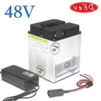 batteria lega di alluminio Caso 48V batteria al litio 1000W 2000W 3000W 48V 20AH bici elettrica della batteria 48V 40AH ebike 60AH