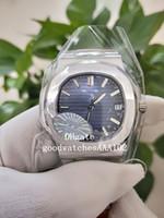 Miglior Versione Nuovo Men's Watch PPF Factory Cal.324 SC الأزرق الطلب 40MM ETA 5711 White Gold Watch Automatic Watch Watch