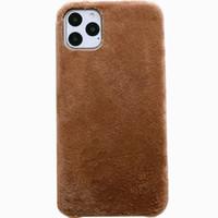 Novo capa de veludo Zv01 para capa de inverno protetora iPhone11