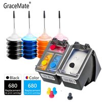 Cartucho de tinta compatible para GraceMate 680 Para Deskjet 4536 4538 4675 4535 4676 4678 3635 3636 3835 2135 2136 2138 Impresora