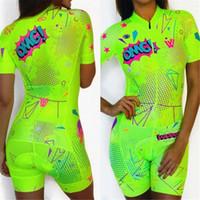 녹색 여성 트라이 애슬론 정장 사이클링 Skinsuit 의류 사용자 정의 자전거 자전거 레이싱 슈트 팀 자전거 키트 로파 Ciclismo 여성 tIzk 번호