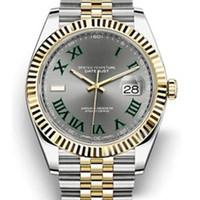ساعات الساعات V3 Datejust Gold Mens Watch 41mm الساعات الفولاذ المقاوم للصدأ الرجال 2813 الميكانيكية التلقائي الرئيس desinger رجالي ووتش
