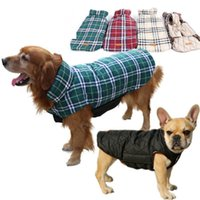 الشتاء الكلب سترة دافئ الحيوانات الأليفة الملابس في الهواء الطلق للماء عكسها الأزياء منقوشة جرو معاطف رشاقته القطن مبطن الكلاب الملابس