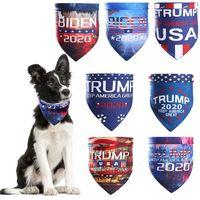 بايدن TRUMP الحيوانات الأليفة والأوشحة وشاح الكبار ماجيك 2020 الرئيس الأمريكي دونالد ترامب الانتخابات بايدن رسالة العمامة الكلاب القطط مناديل DBC BH3786