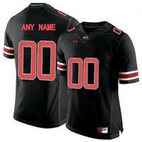 오하이오 주립 마로니에 대학 NCAA 샘 허바드 9 자니 유타 (12) 덴젤 워드 (17) 제롬 베이커 화이트 레드 블랙 남성 여자 어린이 축구 유니폼