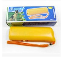 Black Yellow LED portable Flashlight Boxed Battery- Free Ultr...
