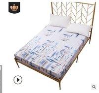 2020 la vendita calda di alta qualità accessori per la casa Copriletto tessuti biancheria da letto stampata copertura impermeabile letto guarnizione del coperchio del materasso a prova di umidità BQ007