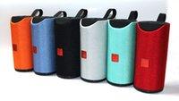 TG113 Altifalante Bluetooth sem fios Speakers Subwoofers Handsfree Chamada Perfil Stereo Baixo Baixo Suporte TF USB Cartão AUX Line In Hi-FiLoud-1