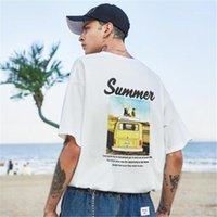 Casual Apparel 2020 Nouveau Desinger Hommes d'été T-shirts à manches courtes ras du cou imprimé floral Mode Homme Vêtements