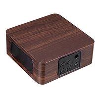 Altavoces portátiles Mini altavoz inalámbrico Retro Bluetooth HiFi Dual 3D Redround sonido reproductor de música