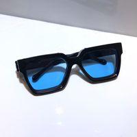 Hombres populares Gafas de sol Z1165 MILMESO ARRIBLE CHARTE VINTAGE VINTA CLÁSICO CLÁSICO CLÁSICO DE VERANO UV400 LENTE 1165 Estilo láser de calidad superior con paquete