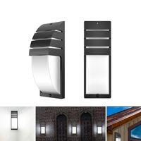 Lampe murale LED COB AC 85-265V Lampe murale minimaliste moderne extérieure 8W étanche IP65 Home Corridor Balcon Lumières décoratives