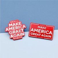 لوازم ورقة رابحة رابحة بروش 2020 جعل أميركا مرة أخرى العظمى شارة الولايات المتحدة الانتخابات الرئاسية حزب شارة الحزب لصالح CCA12460 200PCS