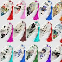 Feuilles Vein Favoris Creative personnalisée Elegance Tassel Signets chinois vent Collectibles mignon classique Stationery Favoris TQQ BH1449