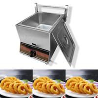 Fries CE aéreo comercial freidora solo cilindro de doble cilindro de la máquina máquina comercial francesa pollo frito freidora