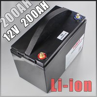12V 200AH Lithium-Ionen-Batterie-Pack für UPS LED-Leuchten Solar-Golf-Auto-Batterien