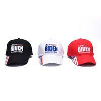 3 tipos Joe Biden 2020 bonés de beisebol chapéu eleição presidencial norte-americana de beisebol Caps Adultos sol ao ar livre Esporte Chapéus vs Donald Trump moda