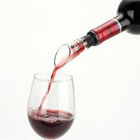 النبيذ الاحمر مهوية صب صنبور سدادة زجاجة الدورق المدفق إشباع مهوية النبيذ صب صنبور زجاجة سدادة DHC1766