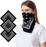 Outdoor Cotton Bandana Scarf Hairband Men Women Cowboy Mens ...