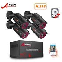 Sistemler Anran 1080 P Analog HD Kamera AHD DVR CCTV Güvenlik Sistemi IR Gece Görüş Kiti Indouzoutdoor Video Gözetim