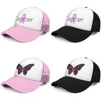 Pink Ribbon Рак Мода Trucker Cap Регулируемая Бейсбол Hat бабочка груди Survivor Wear Для мам рака сохранить Rack Awareness