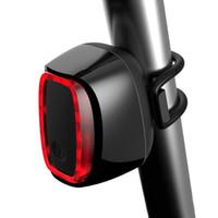 Велосипедные огни X6 MTB задний свет USB водонепроницаемый велосипед аккумуляторный хвост горы задний фонарь светодиодный предупреждение о безопасности