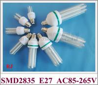 ampoule LED de maïs E27 SMD 2835 LED ampoule de maïs lampe 3W 5W 7W 9W 12W 16W 24W 36W AC85-265V E27 CE High Light Factory Prix