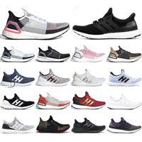عالية الجودة UltraBoost 3.0 4.0 5.0 الاحذية Ultraboost 19 20 أحذية الرياضة الموضة أرك الثلاثي الأسود وودستوك المدربين مربع مع
