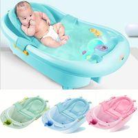 Babywanne Netto-Tub Security Support Kinderduschpflege für Neugeborene Adjustable Safety Net Cradle-Riemen-Mesh für Säuglingsbade