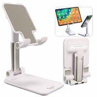Téléphone portable Support pour bureau, Angle Hauteur Support de téléphone portable réglable Téléphone Bureau portable pliable Support pour téléphone / iPad / Kindle / Tablet