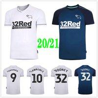 2020 2021 Derby County Soccer Trackys 32 Rooney 10 Lawrence 9 Waghorn 8 Dowell Патерсон Бучанан Пользовательский Дом Взрослый Детский футбол