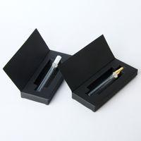 10ml Klarglas Parfüm-Zerstäuber-Flasche mit weißem / schwarzem Paketkasten Kosmetische Parfum-Probe-Phiole-Nachfüllbare Flaschen
