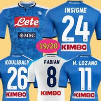 2019 Napoli Soccer Jersey 19 20 Customized #14 MERTENS #17 H...