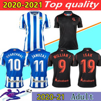 20 21 Real Sociedad calcio Jersey casa lontano OYARZABAL X. PRIETO Camisetas de futbol 2020 2021 Royal Society Football Shirt