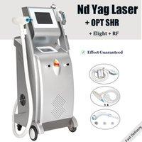 4 in 1 Çok İşlevli Lazer Epilasyon Dövme Machine SHR Elight ND YAG IPL Güzellik Sistemi Kaldır