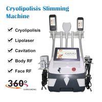 Yeni gelenler 360 Serin Zayıflama Cryolipolisis yağ giderme LPG Endermolojisi vücut zayıflama cihazı lazer Yağ kaybı ekipmanları