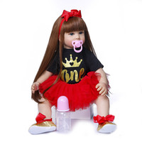 NPK 60CM Bebe doll Reborn Boneca Reborn toddler baby girl do...