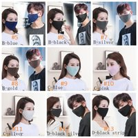 NEW 13 Style Sequin Face Mask Windproof Sequin Face MaskSummer Sunscreen Mask Anti Dust Mouth Cover Fashion Glitter Designer Mask FF61