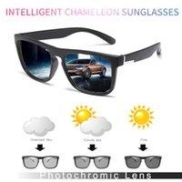HD поляризованные фотохромные Солнцезащитные очки Мужчины вождения Хамелеон очки Мужчины дневного и ночного видения водителя Goggles Lentes Sol Hombre