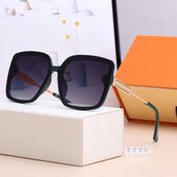2021 Nuevas gafas de sol polarizadas de alta calidad para hombres y mujeres Big Frame Square Gafas de sol de lujo diseñador de gafas de moda al aire libre