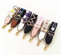 Мода Радуга ремень сумка ремни нейлон цветок Женщины плечевой ремень Регулируемый Широкий ремень деталей для сумки Аксессуары Obag ручки
