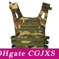 Armée camouflage tactique Multicam Gilet Combat Corps Armure Plaque support Gilet Airsoft Paintball Gear