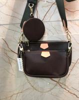 Novas Bolsas de Ombro conjunto purs trio bolsas femininas de couro bolsa de senhora mensageiro saco mochila corpo cruz pacote de saco senhora clássico, com caixa