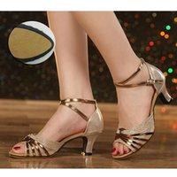 dança sapatos para as mulheres Hot venda da marca Modern Sapatos de dança Salsa salão sapatos Tango latino para meninas Senhoras dedo aberto