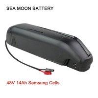 48V 14Ah Sea Side Lune batterie Ouvrir e-Bike Li-ion Samsung Batteries portables pour bicyclettes Bafang TSDZ2 1000W 750W 500W moteur