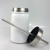 Быстрая доставка! 17oz Mason Jar из нержавеющей стали Сублимация Массажеры большой емкости Винные бутылки High-End офиса Чашки С персонализированный логотип A12