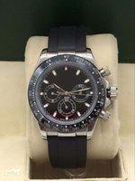 Дизайнер Часы Высококачественные мужские часы, полностью автоматическое механическое движение, резиновый ремешок с складной застежкой, белое стальное керамическое кольцо