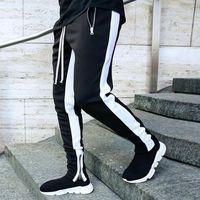 Men's Joggers Casual Pants Fitness Sportswear Tracksuit Bottoms Skinny Sweatpants Trousers Gyms Sports Pants Size M-2XL Fashion
